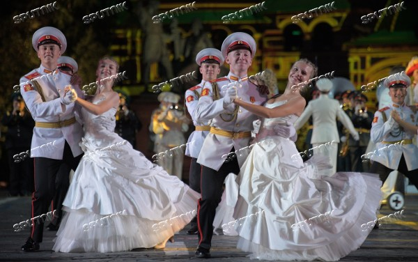 2018 Spasskaya Tower Military Music Festival closing ceremony