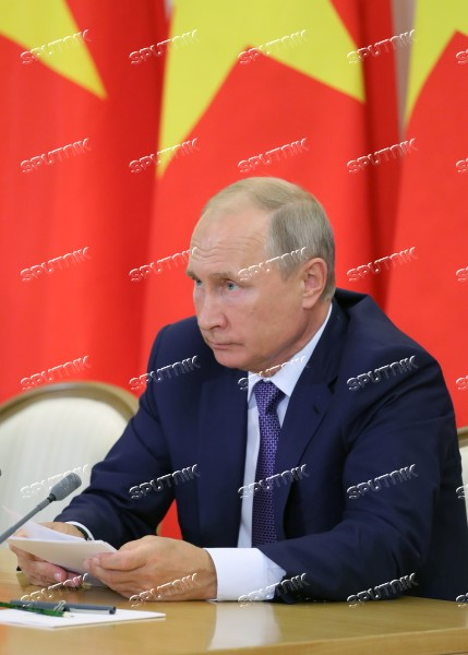 Russian President Vladimir Putin Meets With General Secretary Of Communist Party Of Vietnam Nguyen Phu Trọng Sputnik Images Media Library