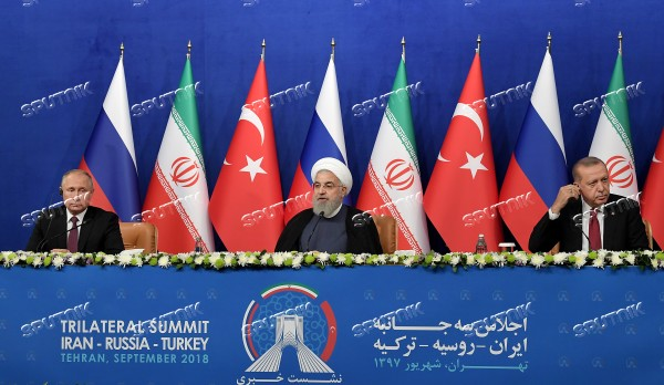 Iran Russia Turkey Summit