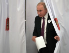Russian President Vladimir Putin casts vote in Moscow mayoral election