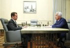 Russian Prime Minister Dmitry Medvedev meets with head of Dagestan Vladimir Vasilyev