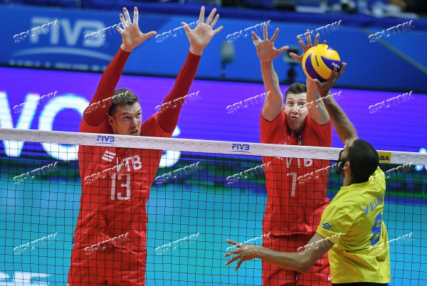 Italy Volleyball Worlds Russia - Brazil