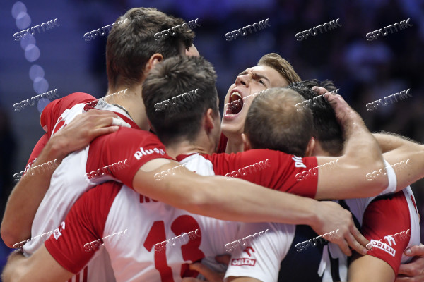 Italy Volleyball Worlds Poland - USA