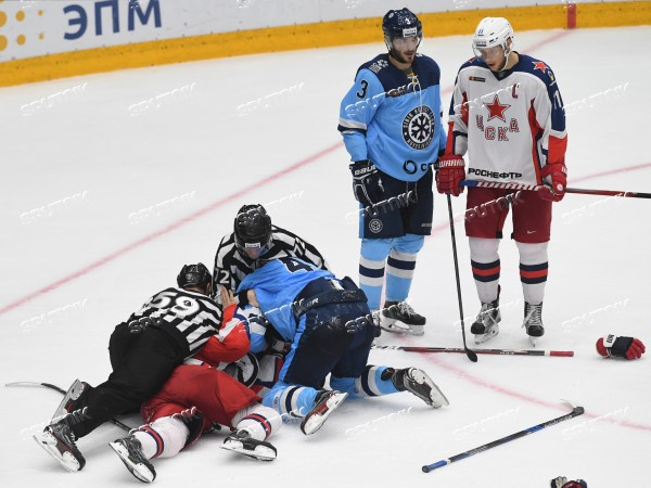 Russia Ice Hockey Sibir - CSKA