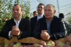 Russian President Vladimir Putin and Prime Minister Dmitry Medvedev's working trip to Stavropol Territory