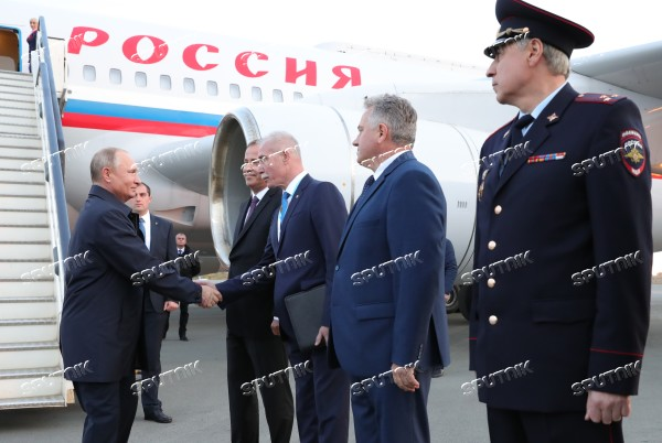 President Vladimir Putin takes part in Russia – Country of Sports forum