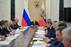 President Putin holds meeting with Russian Government ministers