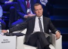 Russian Prime Minister Dmitry Medvedev chairs meeting of Skolkovo Foundation Board of Trustees