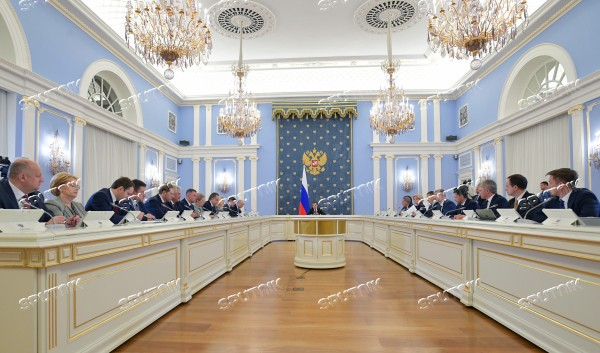 Prime Minister Dmitry Medvedev chairs Government meeting