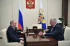 Presdient Putin holds working meeting with FITU head Shmakov