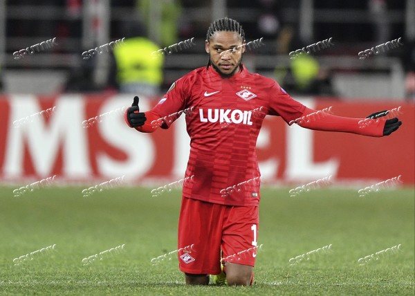 Russia Soccer Europe League Spartak - Rapid
