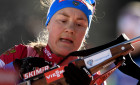 Slovenia Biathlon World Cup Individual Race Women