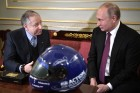 President Vladimir Putin's working trip to St. Petersburg