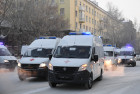 Russia New Ambulance Cars