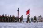 Russia End of Leningrad Siege Anniversary