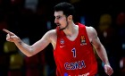 Russia Basketball Euroleague CSKA - Buducnost