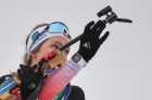 Belarus Biathlon European Championships Pursuit Women