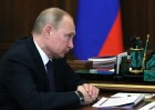 President Putin meets with Industry and Trade Minister Manturov