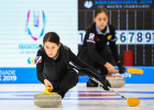 Russia Universiade Curling Training