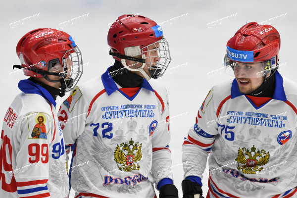 Russia Universiade Bandy Men Norway - Russia