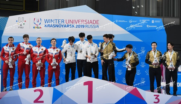 Russia Universiade Short Track Men