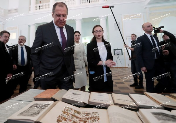 Russia State Library Exhibition