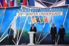 Russia Universiade Closing Ceremony