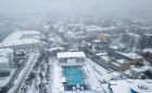 Russia Winter Outdoor Pool
