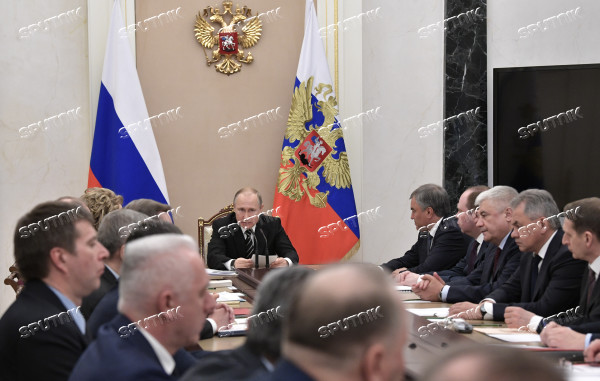 Russia Putin Security Council