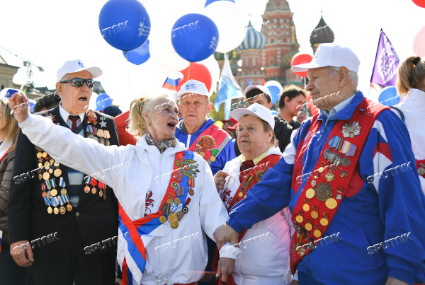Russia May Day
