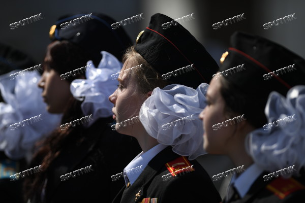Russia Cadets Parade