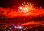 Russia Victory Day Fireworks