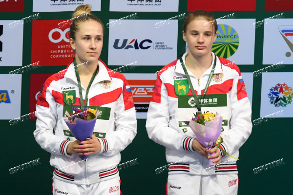 Russia Diving World Series Synchro Women