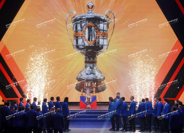 Russia Ice Hockey CSKA Awarding Ceremony