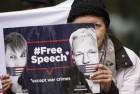 Great Britain Wikileaks Assange Court