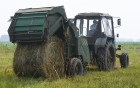 Russia Hay Harvest