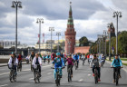 Russia Autumn Bicycle Festival