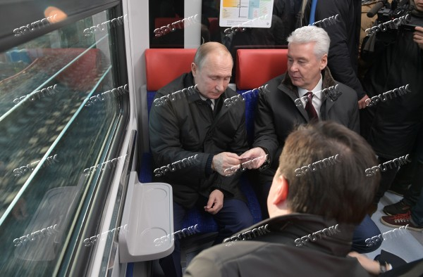 Russia Moscow New Public Transport System