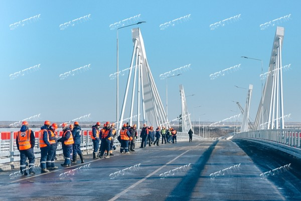 Russia China Bridge