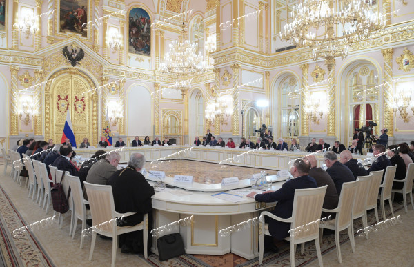 Russia Putin Human Rights Council