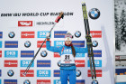 Austria Biathlon World Cup Sprint Women