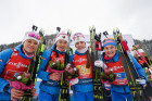Austria Biathlon World Cup Women Relay