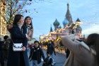 Russia Moscow Daily Life