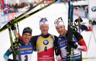 France Biathlon World Cup Men Pursuit