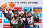 France Biathlon World Cup Women Mass Start