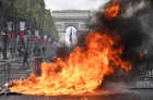 France Bastille Day Protests