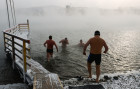 Russia Winter Swimming