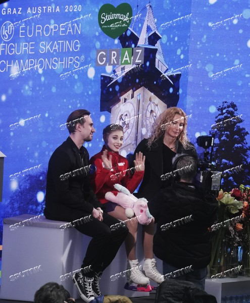 Austria Figure Skating European Championships Ladies Free Skating
