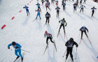 Russia Mass Ski Race