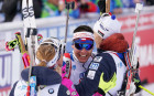 Italy Biathlon Worlds Mixed Relay